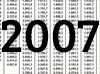 Die Gehaltstabellen 2007